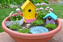 Fairy gardens / Miniature garden ideas...