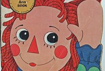 More Raggedy Ann & Andy Items / Books, puzzles, paper dolls,etc.
