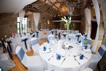 Chair Covers & sashes / Blue Goose Wedding & event hire - we specialise in hiring and fitting high quality cotton and Lycra chair covers and sashes.