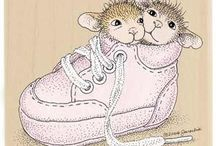 House Mouse Stamps! / Very cute stamps...