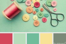 Colors palettes that I like! / Color combinations....