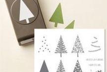 """""""Festival of Trees"""" Cards / Stampin up 2014"""