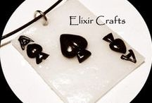 Polymer clay necklaces by Elixir Crafts / Polymer clay necklaces 100% handmade without molds