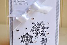 Snowflake Cards! / Everywhere a flake.....