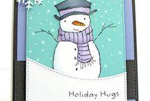 Snowmen Cards / Flakey Fellas!