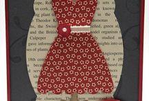 """""""Dress Up"""" Framelits....,ETC... / Let's Play Paper Dolls!"""
