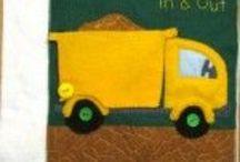 Quiet Books for Kids/ Kid Stuff / Cute ideas!