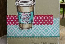 The Perfect Blend (Stampin' Up) / Friend cards...