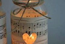 JAR Ideas! / Crafty ideas for mason jars,etc...