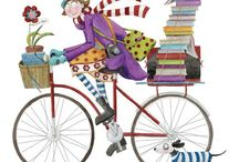 Bicycles & Such... / Merrily we roll along.....