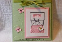 """""""Cheerful Critters!"""" Cards / Stampin' Up 2014"""