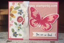 Butterfly Cards / Butterfly Basics & Watercolour Wings, etc....