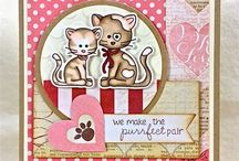 Kitty Cat Cards! / Cat cards & dog cards.....