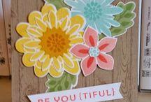 """""""Flower Patch"""" - SU / Stamp set & Diecuts"""