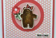 """""""Bear Hugs""""... / S.U. Stamp set & Die Bundle 2016"""