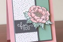 """""""Birthday Blooms"""" & """"What I Love""""!! / SU Floral Stamp Sets 2016"""