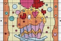 cross stitch mini