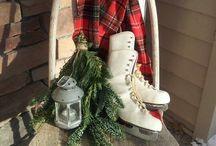 Outdoor Christmas Decor / Ideas for outside