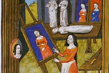 Medieval women at work