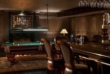 Home Billiards & Bar / Home billiards and bar examples and ideas.
