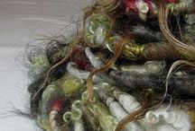 Hand Spun Yarns / Hand spun gorgeous yarns
