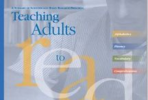 Teaching Reading to Adults / Resources to help you teach reading for adult literacy. Pinned by Literacy Works.