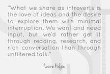 Introverts Are Awesome / Introverts are awesome.