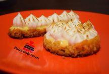 La passion! / White chocolate crust passion fruit cream and meringue