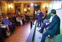 """BPM Tour - Padova / Il 9 luglio si è svolta, presso il Caffè Pedrocchi di Padova, la 4° tappa del BPM TOUR, insieme da 150 anni alla presenza di Giuseppe Castagna, Consigliere Delegato e Mario Anolli, Presidente del Consiglio di Gestione. Il rapporto con il territorio costituisce il fil rouge che anima questo """"viaggio"""" nelle principali aree di presidio della Banca per celebrare il traguardo dei 150 anni e ripercorrere le tappe fondamentali che l'hanno portata a diventare uno dei primi gruppi bancari del Paese."""