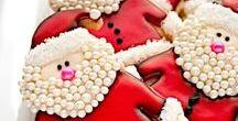 Festive Christmas cookies / Festive fun and sweet Christmas cookies.