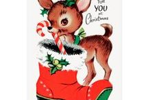 Vintage Christmas Postcards / Classic Vintage Christmas Postcards for Winter season.