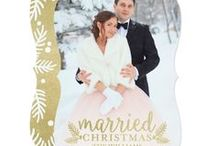 Christmas Wedding Invitations / Christmas and Holiday Wedding Invitations with a winter theme.