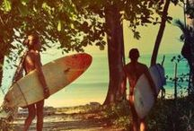 Surf / Surf at Day break. Skate till Sunset. It's the freedom of Summer Days. No Shoes, No Cares. No Responsibility.