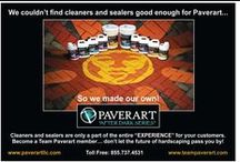 After Dark Series / Custom paver designs that Glow brightly at night using the power of the sun!