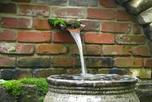 GARDEN & WATER / water features and fountains in private gardens and parks / by Stefan Kruse