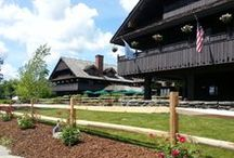 Trapp Family Lodge / Austrian-inspired architecture and a blend of comfortable American and European furnishings have earned the Trapp Family Lodge world-wide recognition as the perfect Vermont destination.  / by Trapp Family Lodge