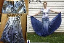Skirt Transformations / Here we catalog the remakes we've made at www.skirtfixation.com