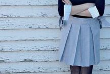 Skirts for Sale / Supporting our Skirt Fixation by selling a few on Etsy!