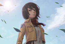 Shingeki no Kyojin/ Attack on Titan / SIE SIND DAS ESSEN UND WIR SIND DIE JÄGER!!!