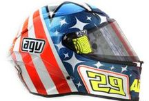 2013 MotoGP Official Riders Helmets / The Pista GP Helmets of all the AGV Official Riders in MotoGP