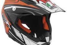 AGV AX-8 EVO / The AX-8 EVO is the new top of the carbon fibre AGV helmets range for professional off-road use and was developed in collaboration with AGV riders from the Cross, Enduro and Supermotard Championship Series. The AX-8 Evo consolidates AGV's position in the world of cross competition with an extremely original design and first class technical characteristics. / by AGV Helmets Official