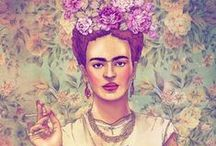 Frida Kahlo - Inspiration