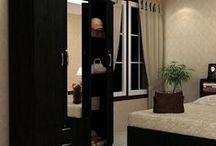 Wardrobes - 3 door / Wardrobes to beautify your room.