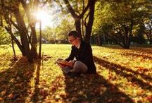 Book's Calling / Make Time For Reading. Anywhere, Anytime.