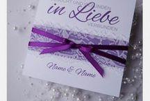 Hochzeitseinladungen / Professionell handgefertigt - auch gern nach individuellen Wünschen! www.creative-for-you.at www.facebook.com/nina.creative.for.you