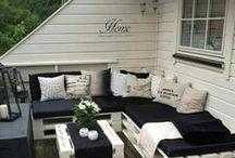 Vara pe balcon / Mobila si decoratiuni pentru balcon