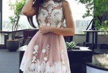 Dresses / Wonderful, colorful and elegante dresses