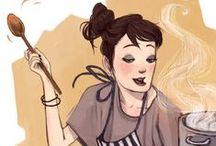 Illustrations - Food & Kitchen