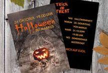 Halloween / Halloweenparty, Halloweensnaks, Dekoration