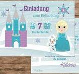 Frozen Party Eisprinzessin / Kindergeburtstag Mottoparty/Themenparty Eisprinzessin, Eiskönigin, Frozen, Elsa